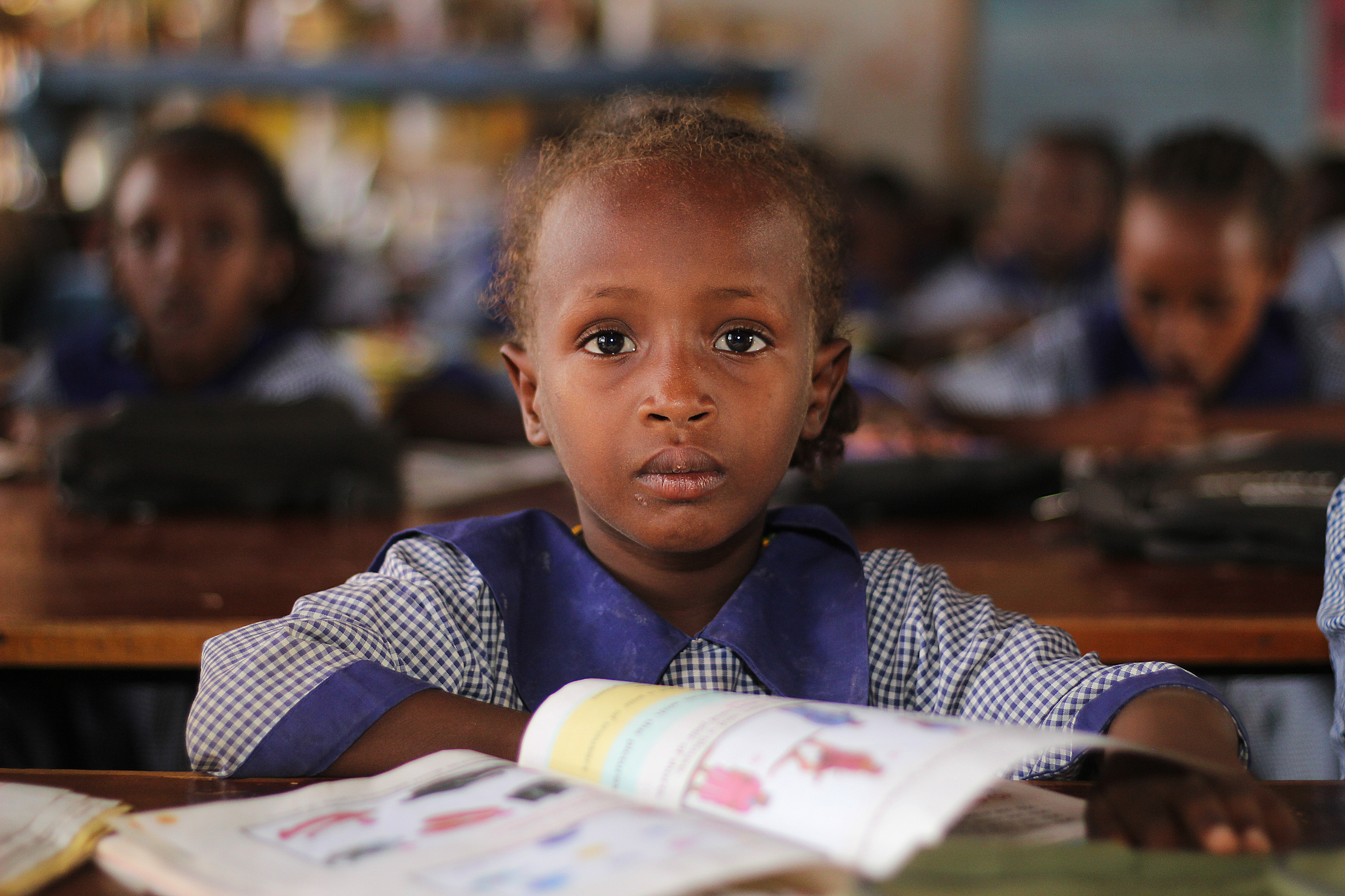 School girl in Kenya