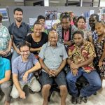 Rami with the Strongim Bisnis Team in Solomon Islands