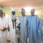 Wearing formal Hausa attire on Mafita's World Cultural Day - 'rawani' (turban) and 'babban riga' (gown).