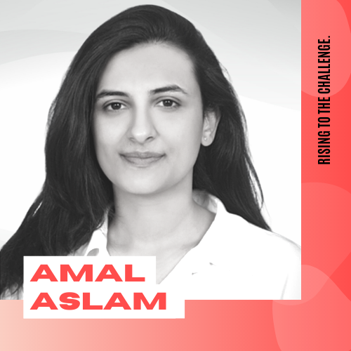 Amal Aslam Headshot